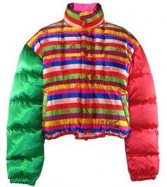 Kenzo 1980's padded ski jacket