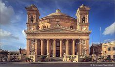 Cattedrale di Mosta nell'isola di Malta