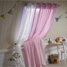 Support sans perçage tringle à rideau Ib+, 25 mm chrome mat IB+ Skylight Shade, Skylight Window, Roof Window, Support Tringle, Curtains Childrens Room, Deco Pastel, Attic Bedrooms, Cool Curtains, Window Curtains
