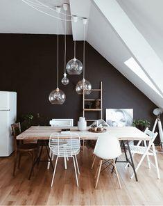 Ma Wishlist Pour La Salle à Manger Peinture Noire Matdécoration Murs Blancs Chambre