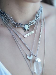 BACK SOON -- Skadi Goddess Of Winter Choker Ice by Dixi