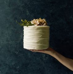 This White Chocolate Cream Cheese Layer Cake recipe is featured in the Chocolate Cake feed along with many more. White Chocolate Cake, Tasty Chocolate Cake, Chocolate Cream Cheese, Chocolate Pies, Chocolate Cookies, Cream Cheese Buttercream, Buttercream Frosting, Icing, Wood Spoon
