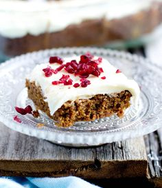 Gingerbread Desserts: gingerbread brownies  - foodiedelicious.com