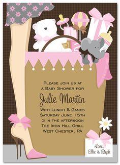 80 best baby shower invitation ideas for girls images on pinterest girl baby shower invitations gift bag baby girl filmwisefo