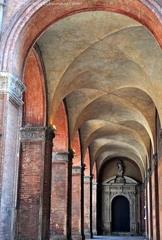 Bologna, Italy - The Porticoes-- My daughter misses the walk, many times a day, through these porticos.