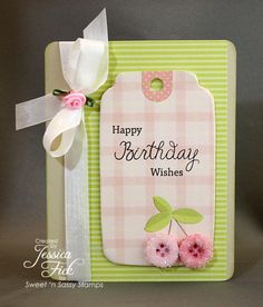 Birthday Wishes by jessjean - Cards and Paper Crafts at Splitcoaststampers