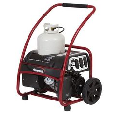 Powermate LPG Series 6875 Watt Portable Liquid Propane Generator