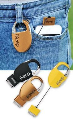 Stocking Stuffers for Teens / Teenagers:  iKeep Retractable Charger for iPhone @ Amazon