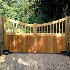 Ahşap Bahçe Kapısı Model 423