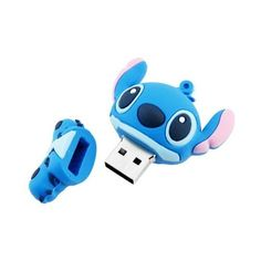 Lilo Stitch Custom USB Drive 8GB ❤ liked on Polyvore featuring technology