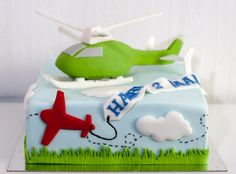 Helicopter cake on Cake Central