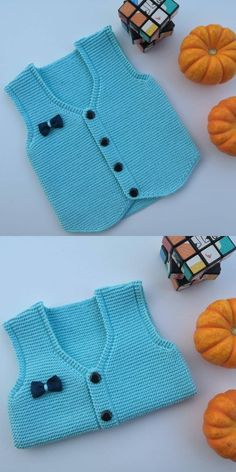 Diy Crafts - Knitting,model-Narration of the Baby Knitting Model That Everybody Looks For - Baby Knitting model narration Baby Knitting Patterns, Baby Hats Knitting, Easy Knitting, Knitted Hats, Baby Boy Vest, Toddler Vest, Vestidos Chiffon, Diy Crafts Knitting, Knit Vest Pattern