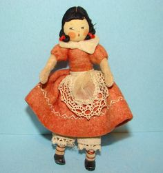 little miss muffet fely nursery rhyme baps doll, via Flickr
