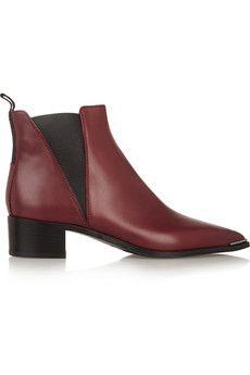 Acne Studios Jensen leather ankle boots  | NET-A-PORTER