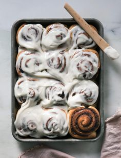 Overnight Cinnamon Rolls Recipe (Soft and Delicious) - A Cozy Kitchen Brunch Recipes, Breakfast Recipes, Overnight Cinnamon Rolls, Cinnabon, Pan Dulce, Breakfast Items, Aesthetic Food, Rolls Recipe, Sweet Bread