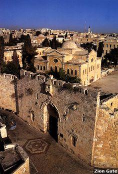 Zion-kapu, Jeruzsálem #izrael #jeruzsalem #travel