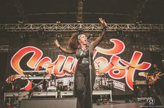 The fierce and wonderful Leela James #soulfest2014