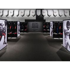 VICTORY BEGINS HERE Locker Room design for @usnikefootball #TheOpening by @ilovedust