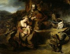 The Rest on the Flight into Egypt.Ferdinand Bol.1644.Museum of Fine Arts.Dresden.