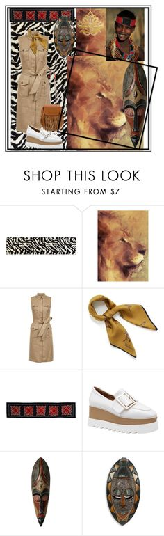 """""""Safari 🦁"""" by acpcxx ❤ liked on Polyvore featuring Infinity Home, Hobbs, Mulberry, NOVICA and Christian Louboutin"""