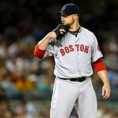 Red Sox pitcher Jon Lester. Come on, let's sign this guy.