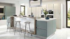 Raised Breakfast Bar | Worktops & Glass | Inspiration | Atlantis Kitchens, Kendal, Cumbria