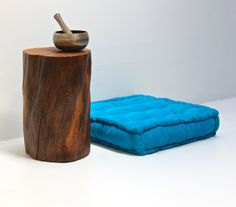 Yoga Tree Stump Table Seat by realwoodworks1 on Etsy