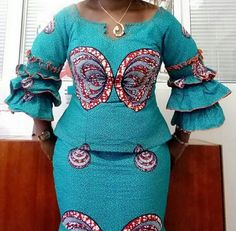is an African fashion and lifestyle website that showcase trendy styles and designs, beauty, health, hairstyles, asoebi and latest ankara styles. Short African Dresses, African Lace Styles, African Blouses, Latest African Fashion Dresses, African Print Dresses, African Fashion Ankara, African Print Fashion, Africa Fashion, Ankara Styles
