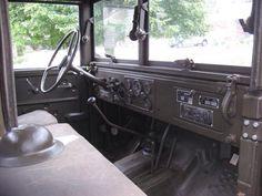 Beauty interior restoration on this Dodge M37