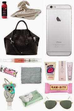 SOFT UNITS: What's in my mommy bag