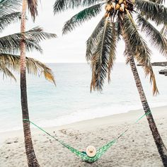 Hidden Beach | Traveling Couple | Hammock Hangs | Ultimate Relaxation via @elanaloo + elanaloo.com