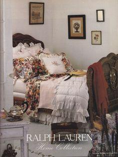 RL Ralph Lauren cottage wicker