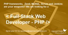 Full-Stack Ninja #WebDeveloper required to join a young and very dynamic team  in #Barcelona! www.approachpeople.com/international/job-description/?id_job=14143
