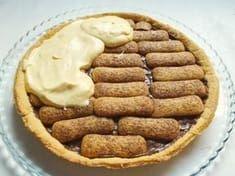 La crostata tiramisu è un dolce tanto semplice quanto delizioso. Ottima la combinazione tra la croccantezza del guscio e la morbidezza della crema Bakery Recipes, Cookie Recipes, Cake Cookies, Cupcakes, B Food, Best Italian Recipes, Sweet Bakery, No Cook Desserts, Pinterest Recipes