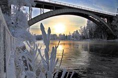 Tammikuun pakkasia Heinolassa. Helsinki, Homeland, Winter, Natural Beauty, History, Country, Nature, Pictures, Photography