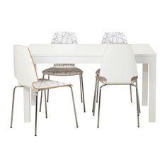 BJURSTA/VILMAR Mesa con 4 sillas - IKEA