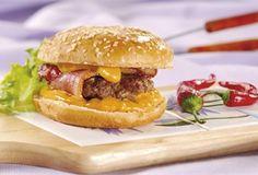 Hamburgery z chrupiącym boczkiem / Burgers with crispy bacon  www.winiary.pl