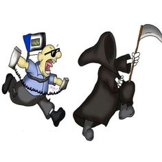 EMS against the Grimm Reaper. Everyday a paramedic is fighting against death and saving lives.