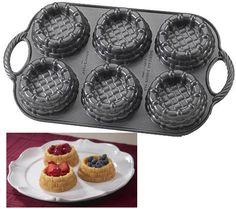 Nordic Ware 54337 Shortcake Basket Pan