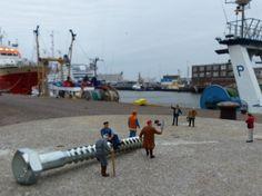 Stephen Cassidy - Kleine Wereld | In de haven #IJmuiden. #KleineWereld