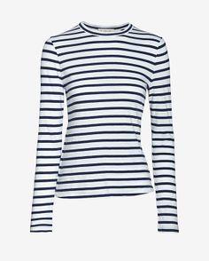 A.L.C. Dru Striped Tee Style# 5537JS $165.00  $99.00