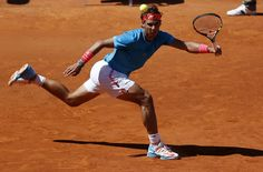 rafael nadal bulge at 2015 madrid open playing andy murray 2015