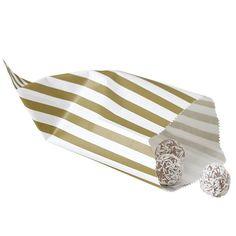 Sweet Candy Tüten, gold – vintage lace
