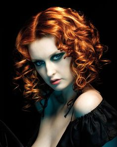 Mermaid Fiery Red Hair Colour Formula From DNA Organic Salon - Hair colour just for roots