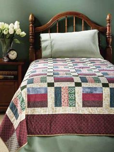Fancy Bars Quilt (photo only)