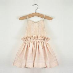 Dancing In The Street Dress (Seashell) – two els