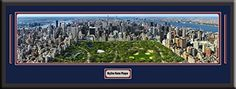 New York City US Skyline Panoramic Comes With 1 1/2 Inch Black Leather Frame-D/Matted W/Small Plaque Art Print - Large Framed Picture - Awesome and Beautiful! This Is a Must for Any Home or Office Decor! Art and More, Davenport, IA http://www.amazon.com/dp/B00KIMD2Y6/ref=cm_sw_r_pi_dp_IrsEub054RRC1