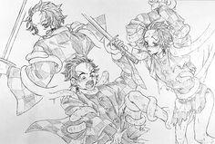tanjiro demon slayer/kimestu no yaiba Demon Slayer, Slayer Anime, Anime Angel, Anime Demon, Anime Tentacle, Kawaii Chan, Naruto Gaara, Hero Wallpaper, Demon Hunter