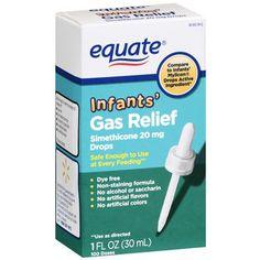 Treating Infant Gas via WhiteCoatMom.com