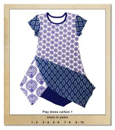Sillybilly© clothing:  Play dress carbon 1 Play Dress, Summer Collection, Blouse, Girls, Clothing, Tops, Dresses, Women, Fashion